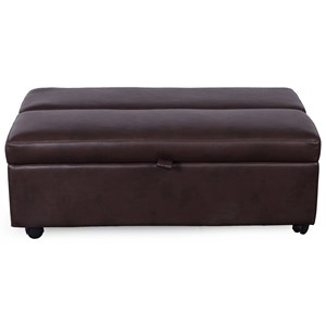 Sleeper Ottoman with Pullout Twin Mattress