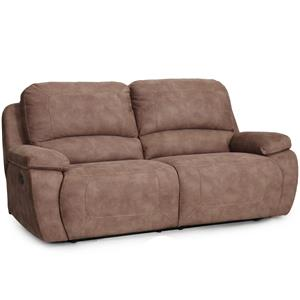 Synergy Home Furnishings 1060 Collection Casual Power Reclining Sofa
