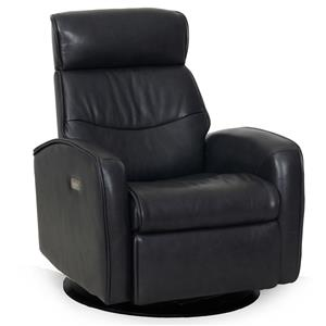 Synergy Home Furnishings 1194 Power Swivel Recliner With