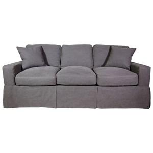 Sofa with Skirted Base
