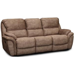 Dual Reclining Sofa with Pillow Arms