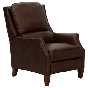 Transitional Leather Recliner