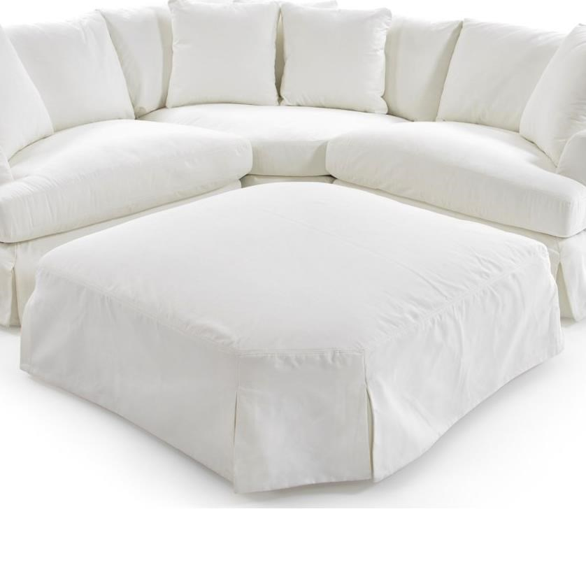 1300 Shaped Ottoman by Synergy Home Furnishings at Baer's Furniture