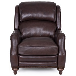 Pushback Recliner with Nailhead Trim