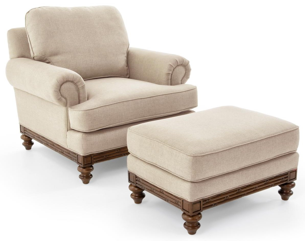 1526 Chair and Ottoman Set by Synergy Home Furnishings at Baer's Furniture