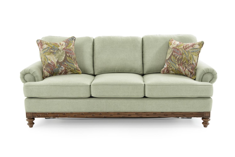Queen Sleeper Sofa with Premium Mattress