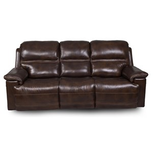 Power Reclining Sofa  with Power Head/Lumbar, USB Ports, Drop Down Table