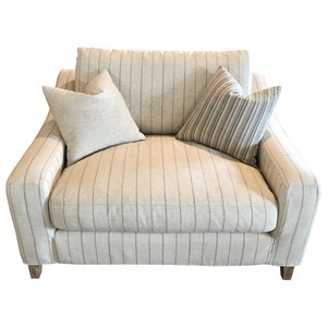 Transitional Slip Covered Chair