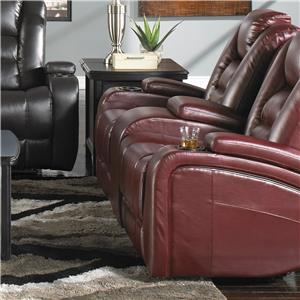 Synergy Home Furnishings 378  Power Reclining Loveseat
