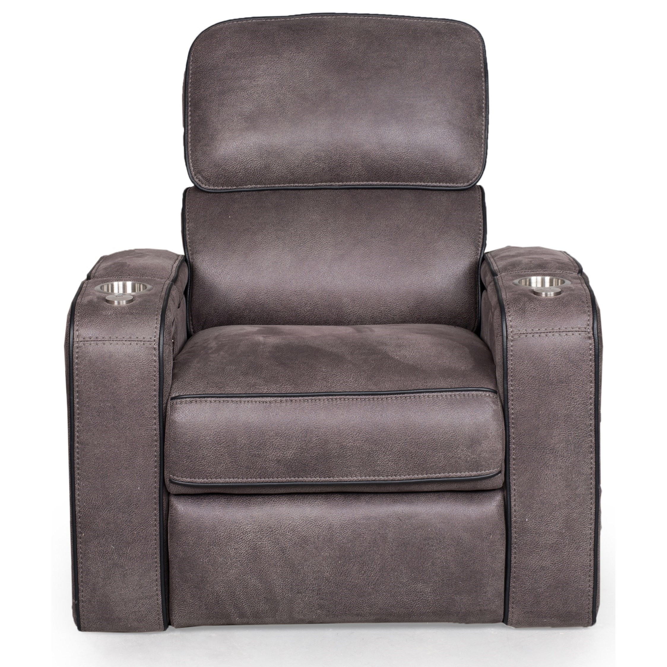 541 Power Headrest Recliner by Synergy Home Furnishings at Beck's Furniture