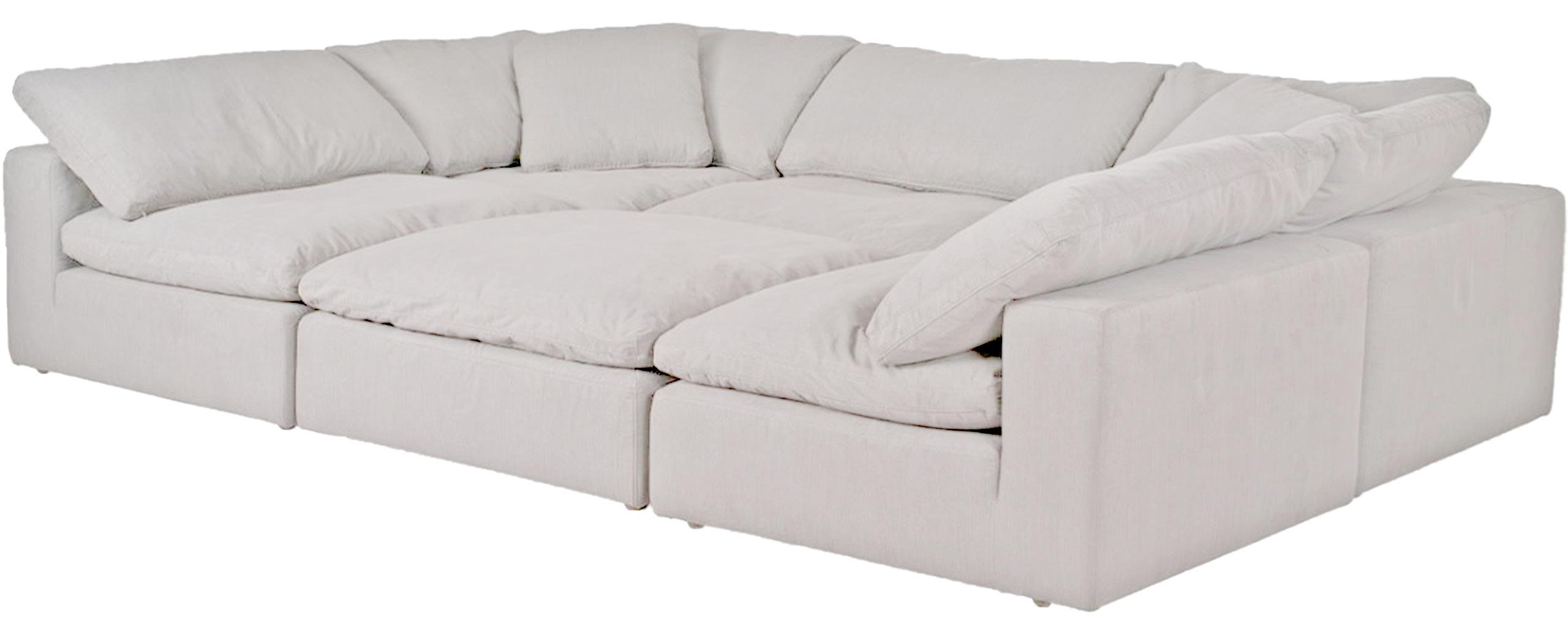 Cloud Sectional by Synergy Home Furnishings at HomeWorld Furniture