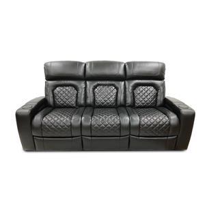 Reclining Sofa w/Power Headrest