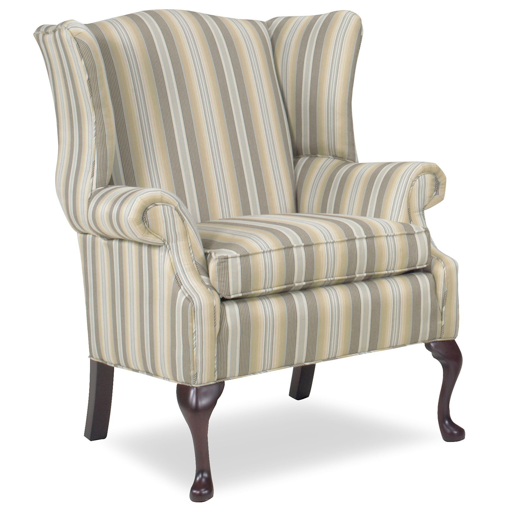 Accent Chairs Wing Chair by Temple Furniture at Mueller Furniture