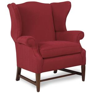 Traditional Wing Back Accent Chair