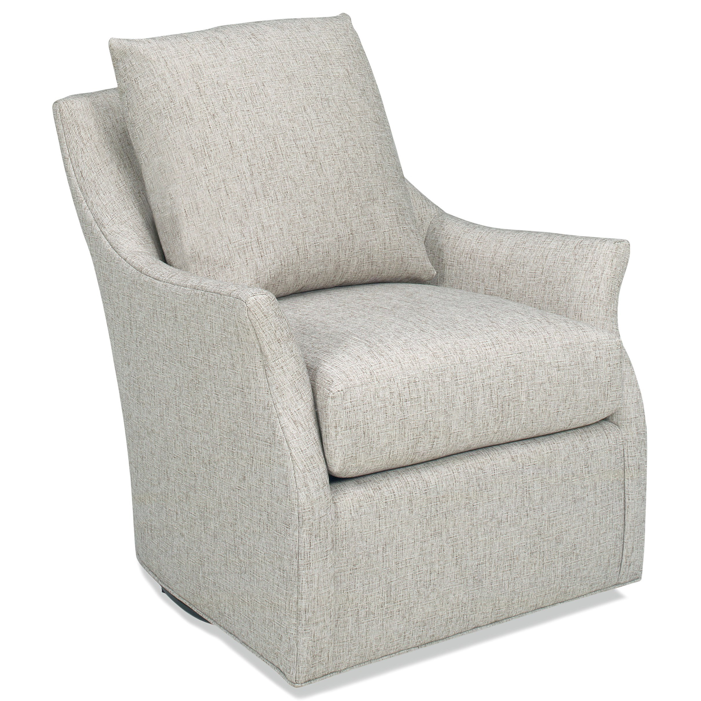 Lucy Swivel Chair by Temple Furniture at Stuckey Furniture