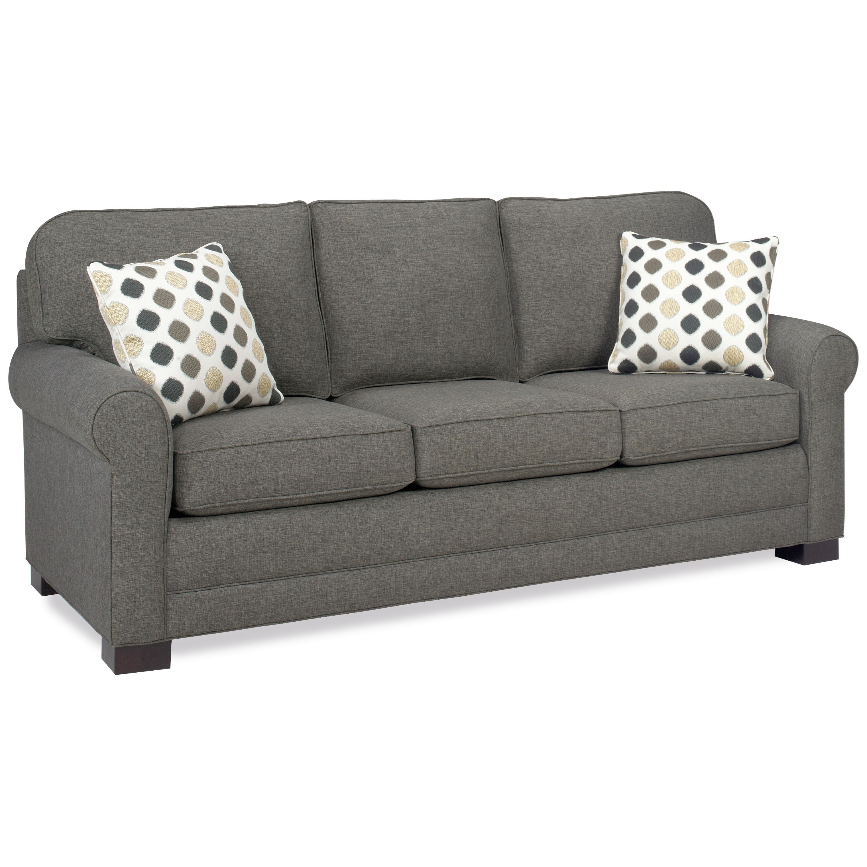 Tailor Made Queen Sofa Sleeper by Temple Furniture at Mueller Furniture