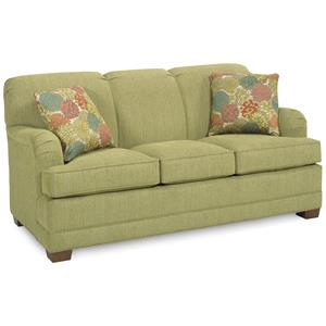 Temple Furniture Tailor Made Traditional Stationary Sofa