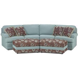 2 Piece Casual Conversation Sofa