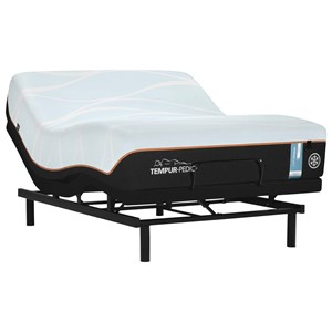 Queen Firm Tempur Material Mattress and Ease 2.0 Adjustable Base