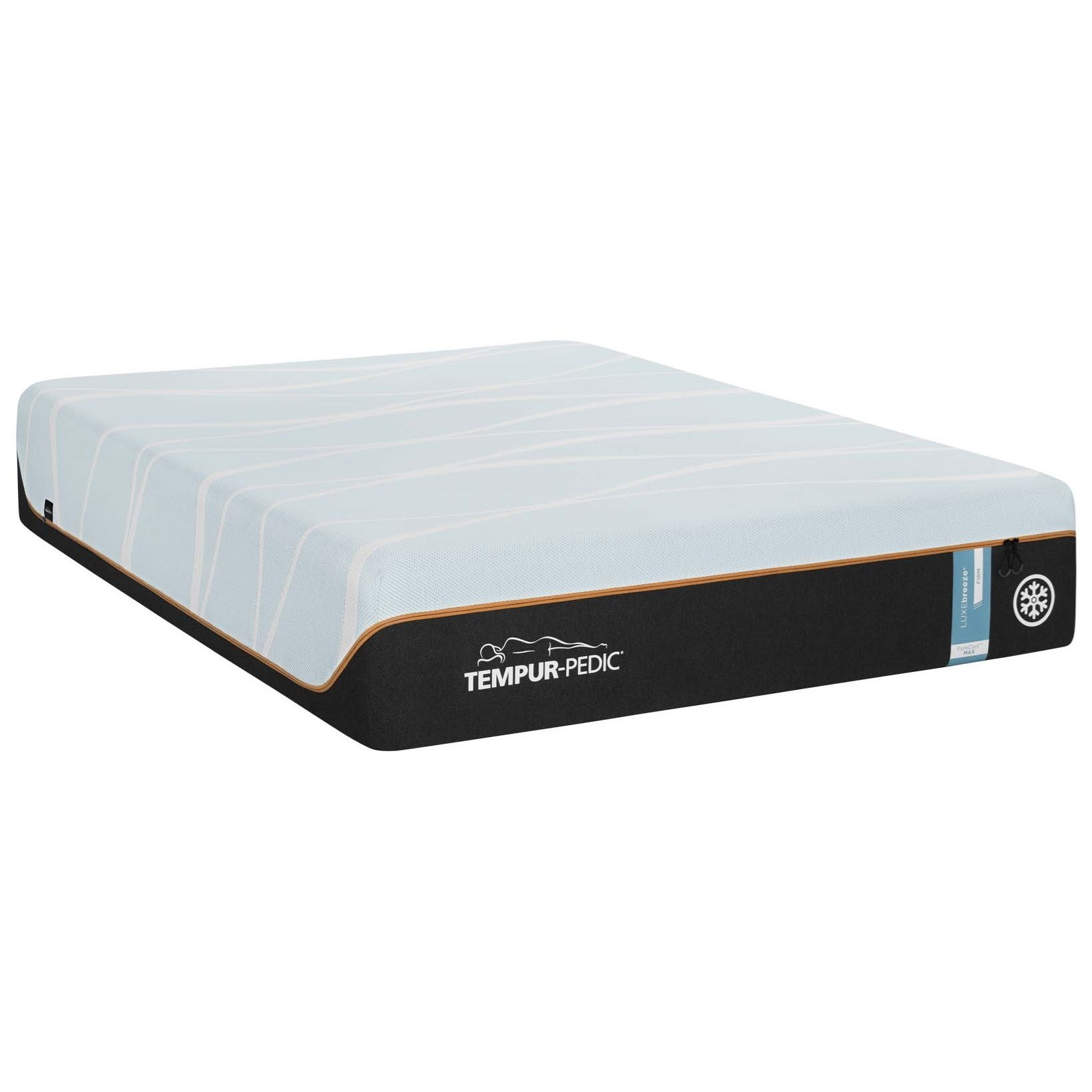 TEMPUR-LUXEbreeze°™ Firm Split CK TEMPUR-LUXEbreeze°™ Firm  Mattress at Johnny Janosik