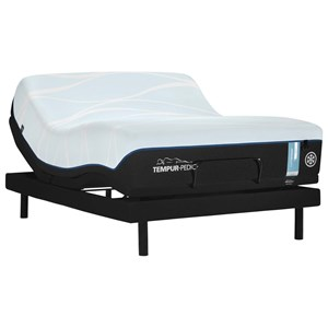 Queen Soft Tempur Material Mattress and TEMPUR-ERGO EXTEND Adjustable Base