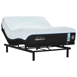 Twin XL TEMPUR-LUXEbreeze°™ Soft Mattress and Ease 3.0 Adjustable Base