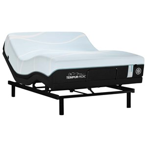 Full Medium Hybrid Mattress and Ease 2.0 Adjustable Base