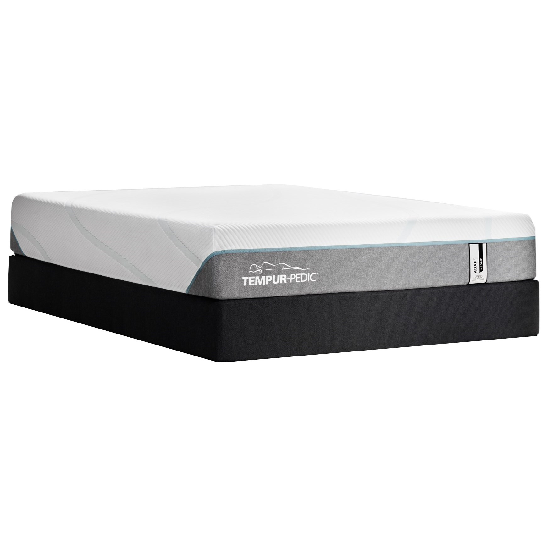 "TEMPUR-Adapt Medium Hybrid Queen 11"" TEMPUR-ADAPT® Medium Hybrid HP Set by Tempur-Pedic® at Lagniappe Home Store"