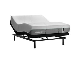 """King 11"""" Tempur-Adapt Medium Hybrid Mattress and 2pc Horizontal King Ease 2.0 Adjustable Base"""