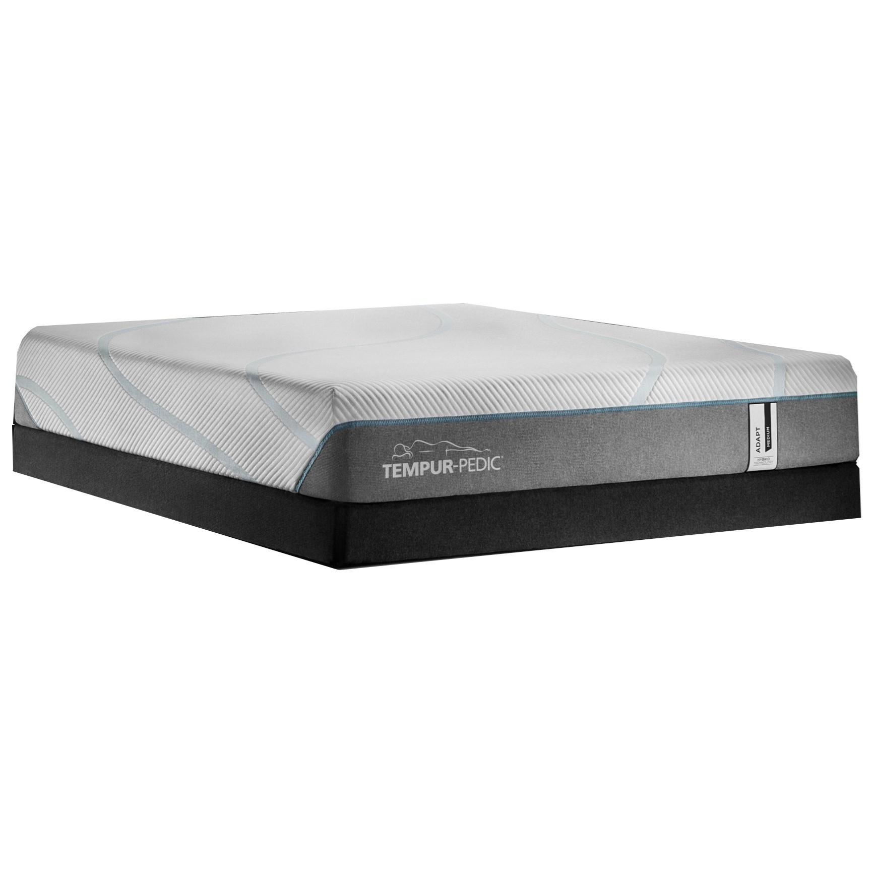 "TEMPUR-Adapt Medium Hybrid Queen 11"" TEMPUR-ADAPT® Medium Hybrid LP Set by Tempur-Pedic® at C. S. Wo & Sons Hawaii"