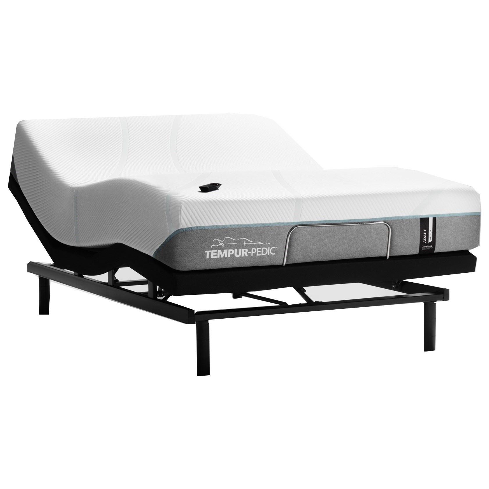 "TEMPUR-ADAPT®  Medium Queen 11"" TEMPUR-ADAPT® Medium Adj Set by Tempur-Pedic® at Household Furniture"