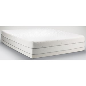 Cal King Medium Firm to Soft Mattress and Tempur-Up Adjustable Grey Foundation