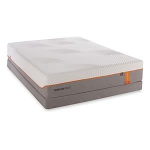Twin Extra Long Contour Elite Mattress and Low Profile Foundation