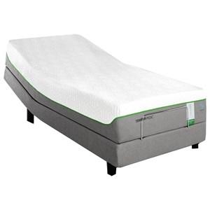 Queen Medium Soft Plush Mattress and TEMPUR-ERGO Adjustable Base