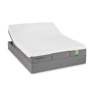 Twin Medium Firm Mattress and Tempur-Up Adjustable Foundation