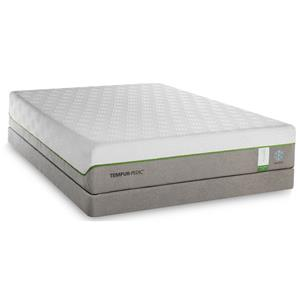 Queen Medium Plush Mattress and Foundation