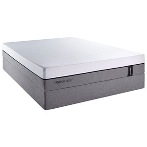Cal King Soft Mattress and Low Profile Foundation