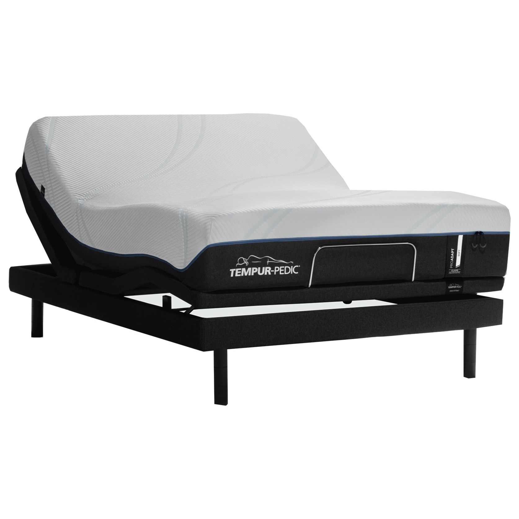 "TEMPUR-PROADAPT™ Plush Queen 12"" TEMPUR-PROADAPT™ Soft Adj Set by Tempur-Pedic® at SlumberWorld"
