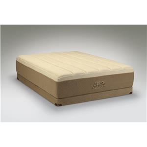 King Medium-Soft Mattress and Low Profile Foundation
