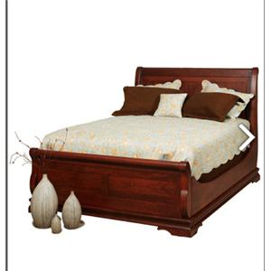 Solid Wood Legacy Sleigh Bed