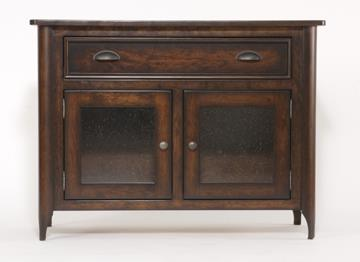 Urban Retreats Occasionals Hudson Entertainment Console by Yutzy - Urban Collection at Dunk & Bright Furniture