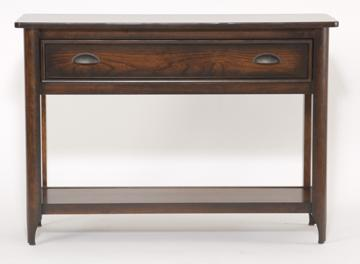 Urban Retreats Occasionals Hudson Sofa Table by Yutzy - Urban Collection at Dunk & Bright Furniture