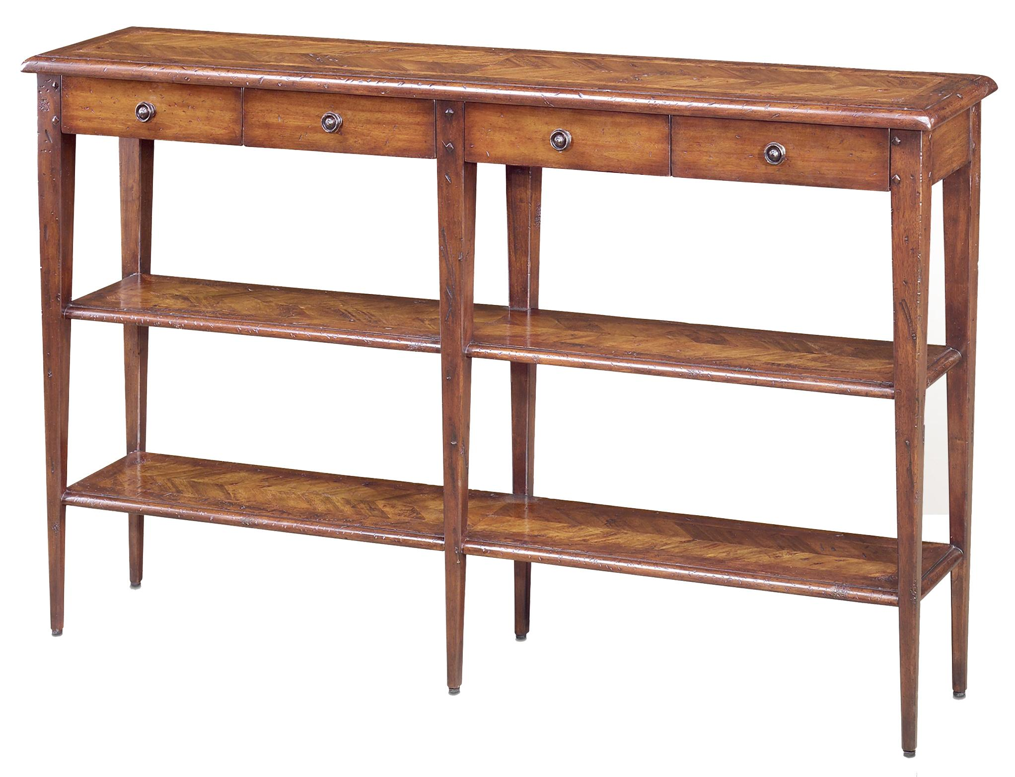 Brunello Console Table by Theodore Alexander at Baer's Furniture