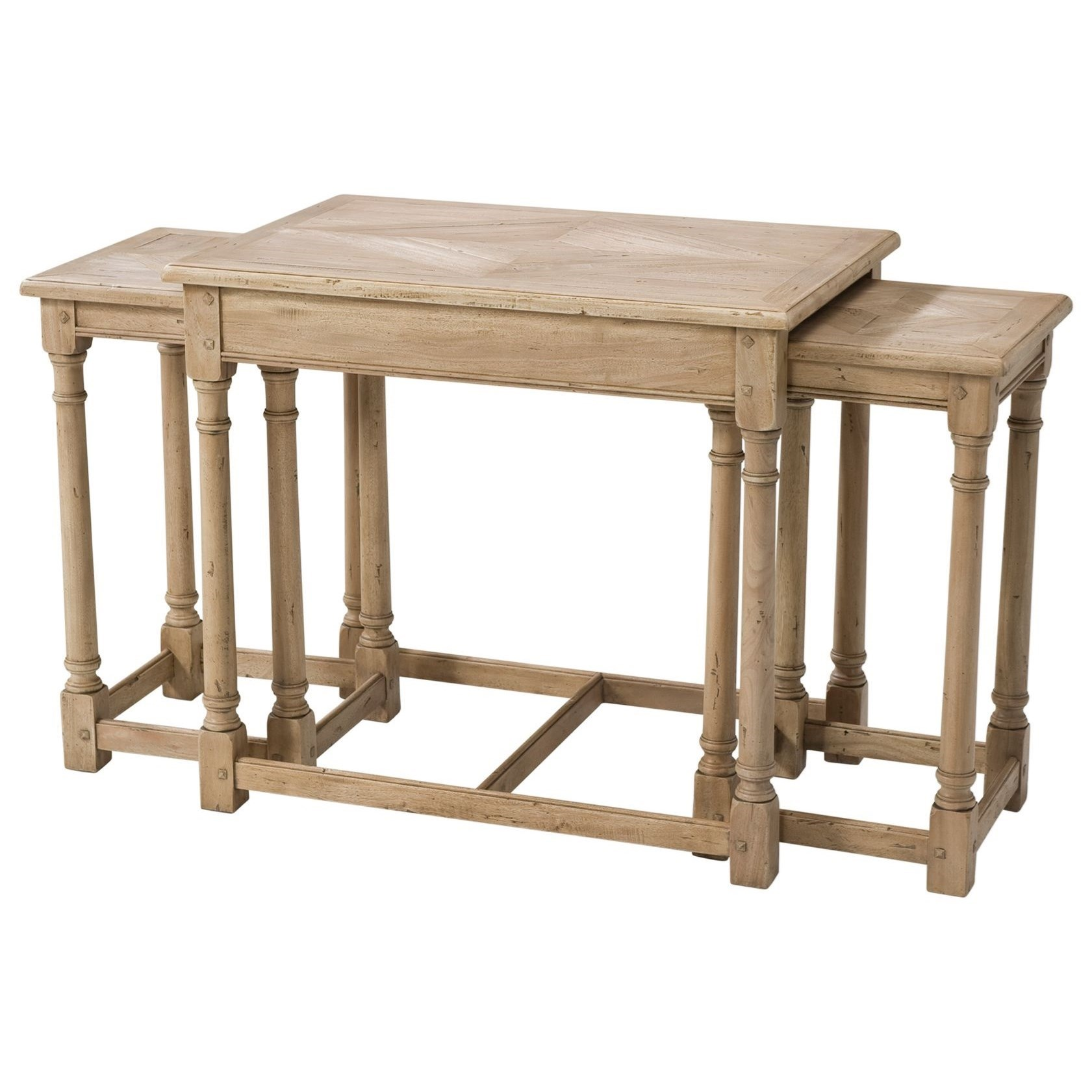 Castle Bromwich Orchard Nest of Tables by Theodore Alexander at Baer's Furniture