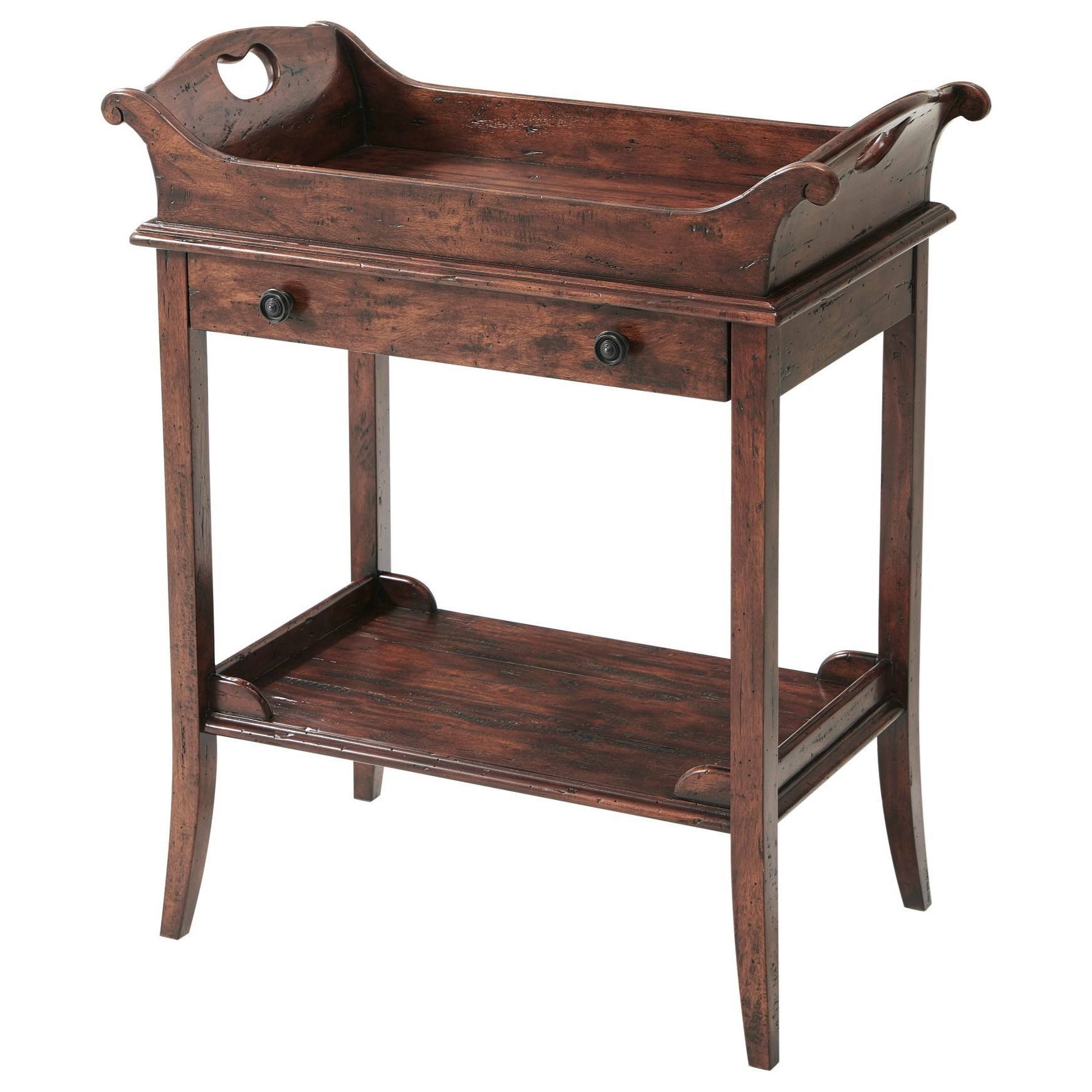 Castle Bromwich The Herb Garden Side Table by Theodore Alexander at Baer's Furniture