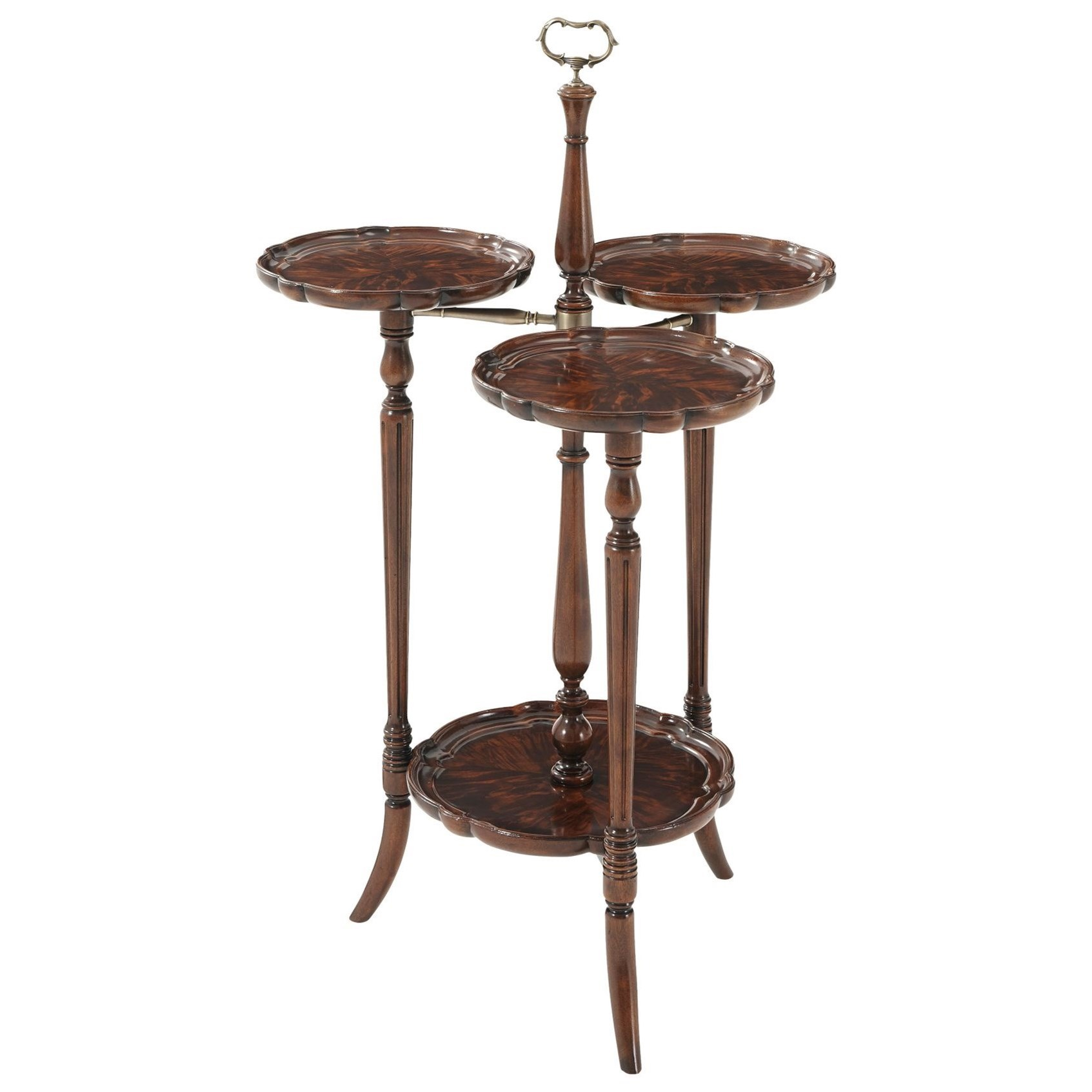 Essential TA Georgian Trio Display Stand by Theodore Alexander at Baer's Furniture
