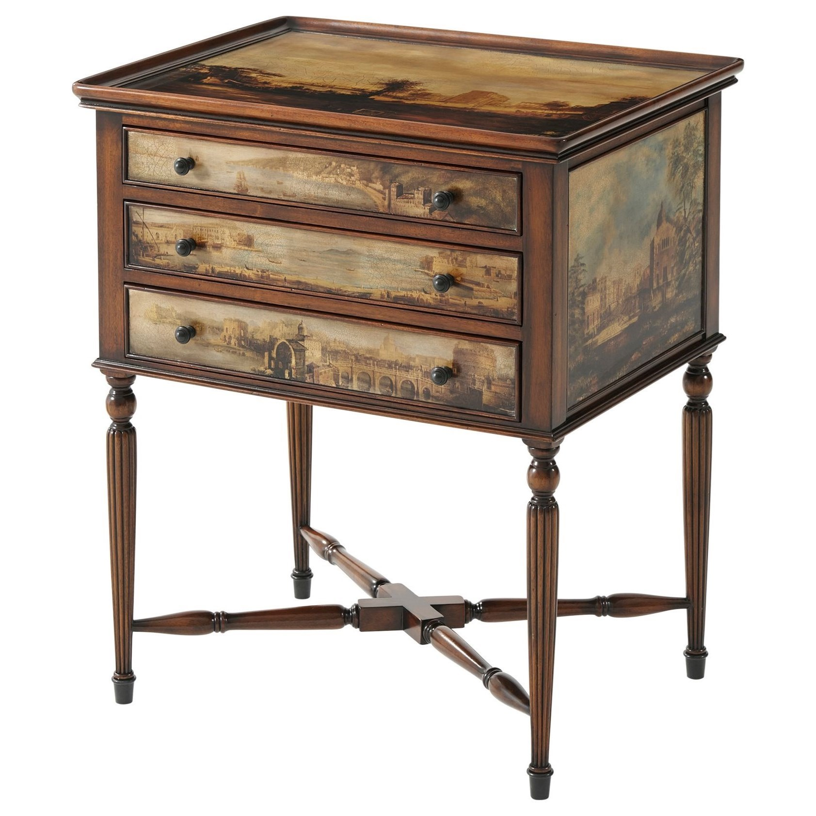 Essential TA Arcadia Accent Table by Theodore Alexander at Baer's Furniture