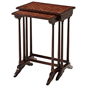 A Parquetry Nest of Tables