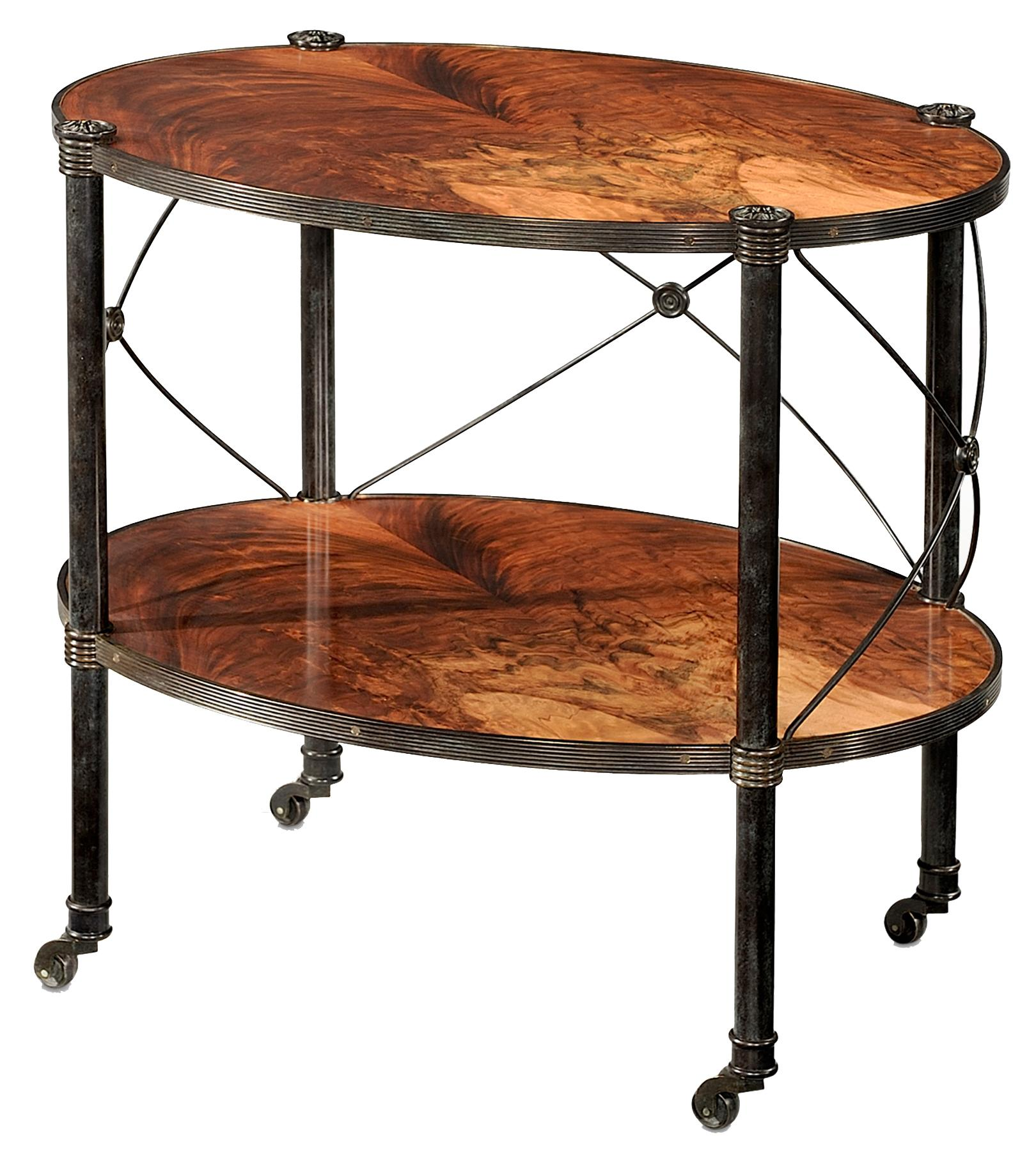 Essential TA Two Tiered Lamp Table by Theodore Alexander at Baer's Furniture