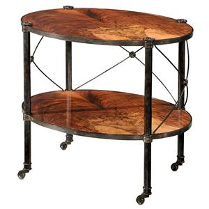 Two Tiered Lamp Table